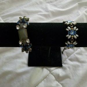 Prom.jewelry wedfing. Bracelets. J crew